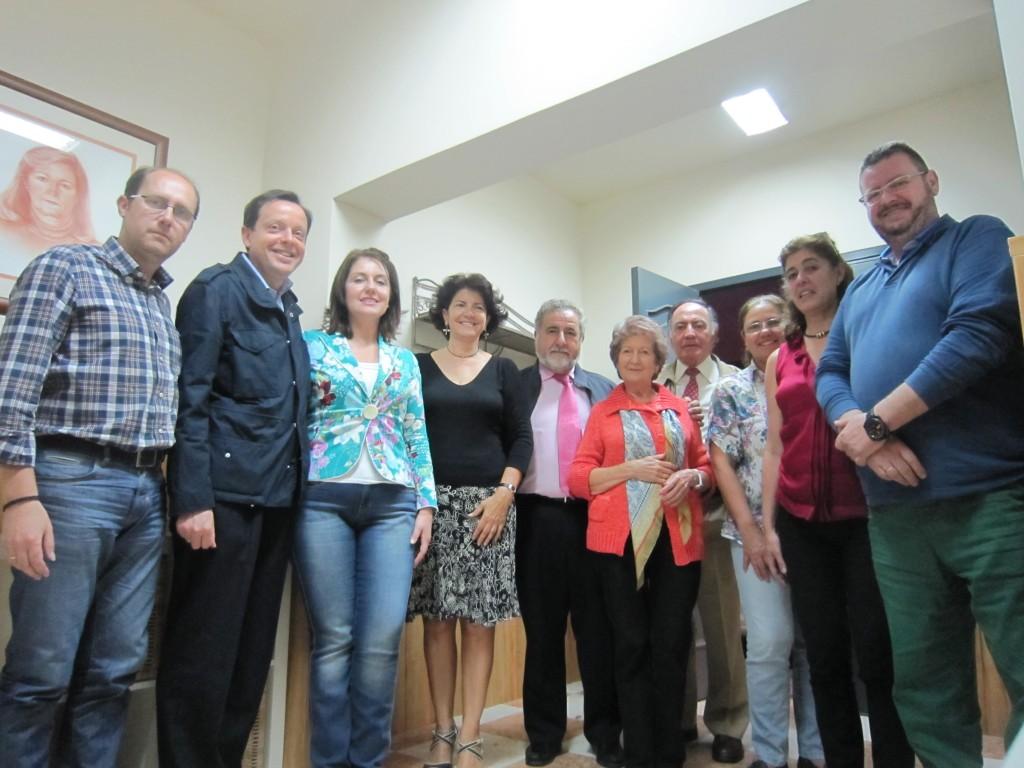 Parte de los miembros de la nueva Junta Directiva elegida el día 15 de mayo de 2013